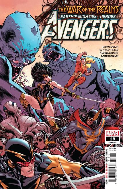 Marvel Comics Avengers #18 Comic Book