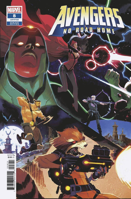 Marvel Comics Avengers: No Road Home #8 of 10 Comic Book [Matteo Scalera Connecting Cover]