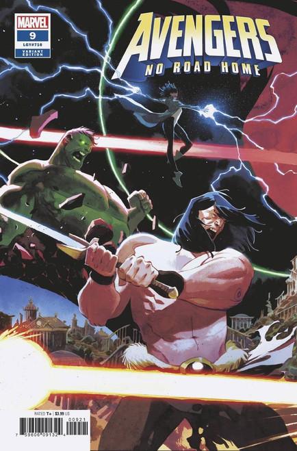Marvel Comics Avengers: No Road Home #9 of 10 Comic Book [Matteo Scalera Connecting Variant]