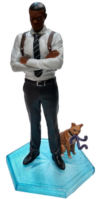 Disney Captain Marvel Nick Fury with Goose PVC Figure [Loose]