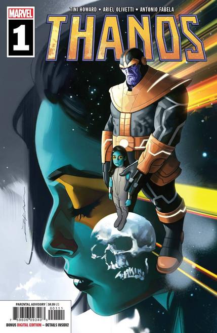 Marvel Comics Thanos #1 Comic Book