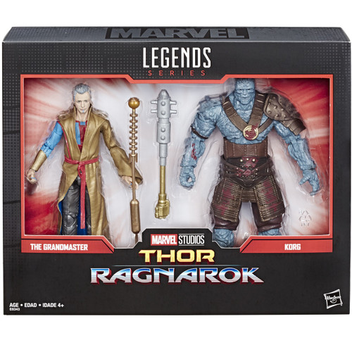 Marvel Legends 80th Anniversary Grand Master & Korg Action Figure 2-Pack