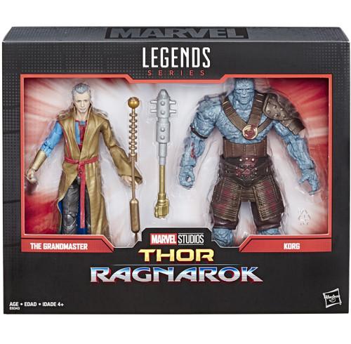 Marvel Legends 80th Anniversary Grand Master & Korg Action Figure 2-Pack