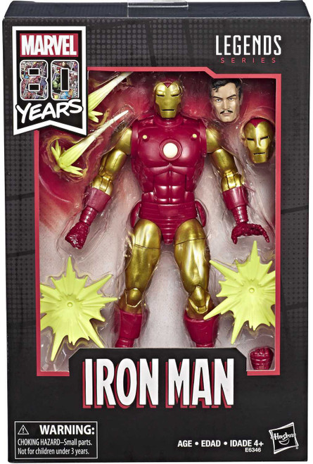 Marvel Legends 80th Anniversary Iron Man Action Figure [Comic]