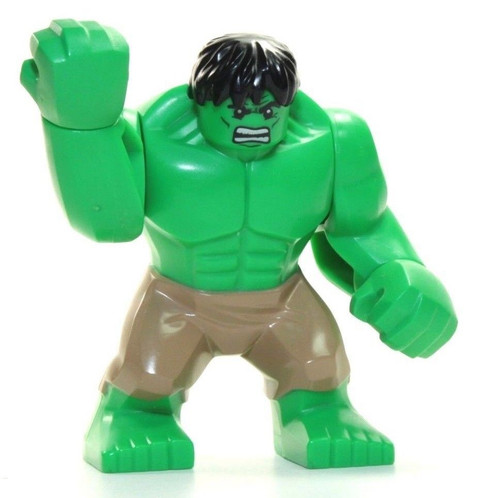 LEGO Marvel Super Heroes The Incredible Hulk Minifigure [Tan Pants Loose]