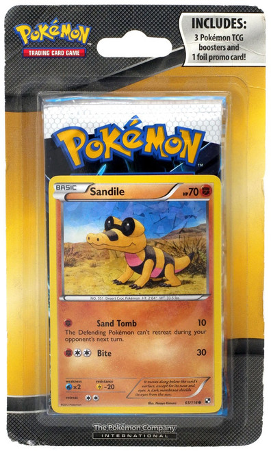 Pokemon Trading Card Game TCG Booster 3-Pack [with Foil Promo Card, 2012]