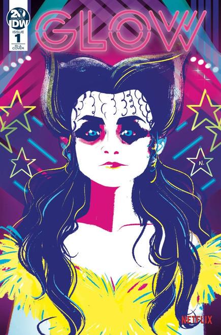 IDW Glow #1 Comic Book [Nicoletta Baldari Variant Cover]