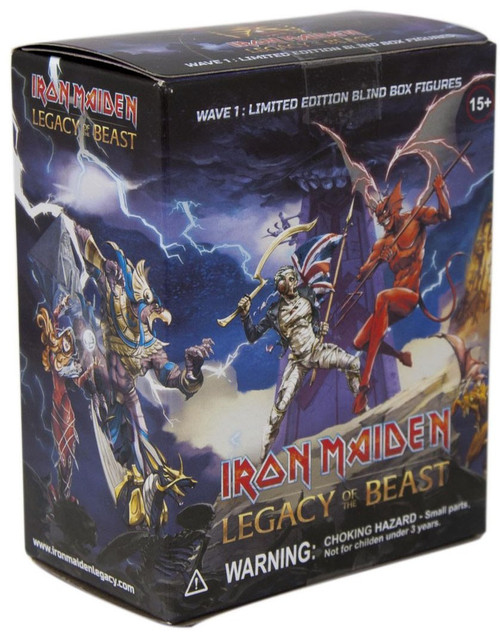 Iron Maiden: Legacy of the Beast Legacy of the Beast 4-Inch Mini PVC Blind Pack [1 PVC Figure]