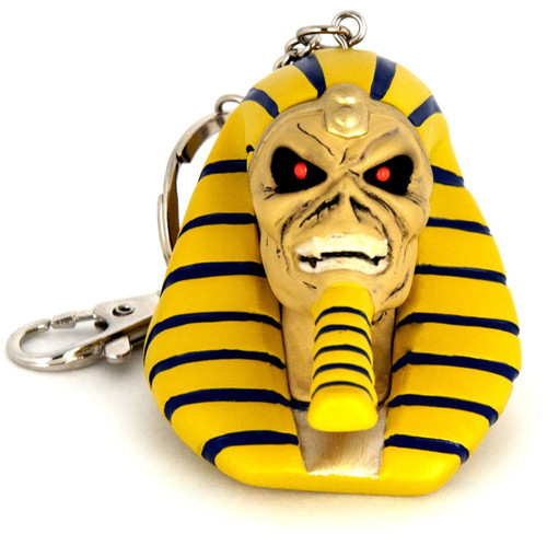 Iron Maiden: Legacy of the Beast Pharaoh Eddie 3-Inch Keychain (Pre-Order ships January)