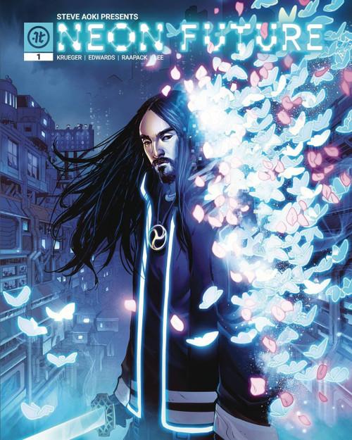 Impact Theory Neon Future #1 Comic Book