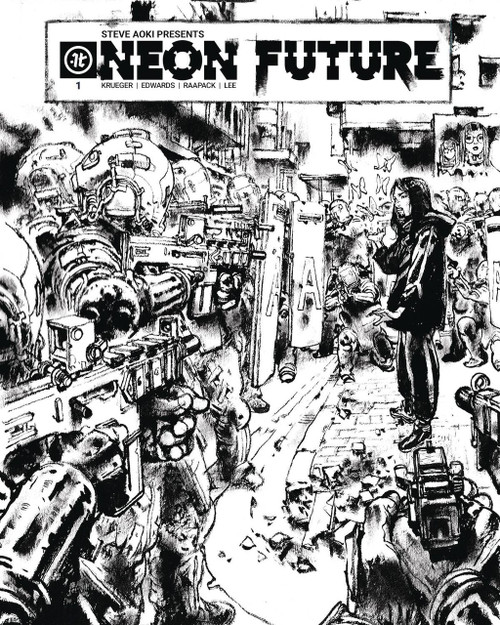 Impact Theory Neon Future #1 Comic Book [Kim Jung Gi Cover B]