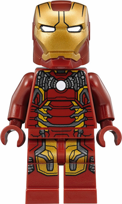 LEGO Marvel Super Heroes Iron Man Minifigure [Mark 43 Loose]
