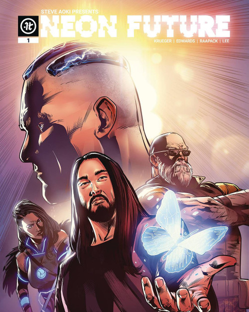 Impact Theory Neon Future #1 Comic Book [Neil Edwards Cover C]