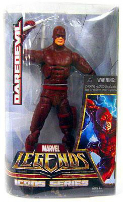 Icons Marvel Legends Daredevil Deluxe Action Figure [Red Costume]