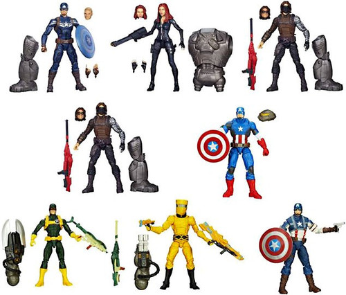 Captain America 2 The Winter Soldier Marvel Legends Mandroid Series 2 Action Figure