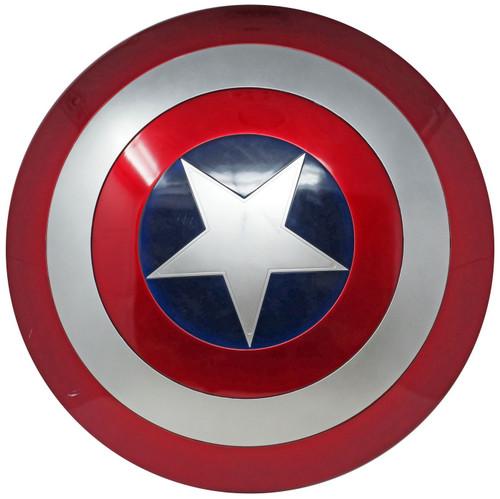 Marvel Legends Gear Captain America Shield Prop Replica [Paint Defects]