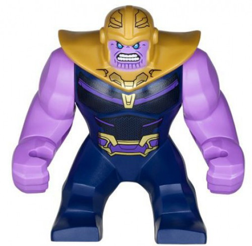 LEGO Marvel Super Heroes Avengers Infinity War Thanos Minifigure [Lavender Arms Loose]