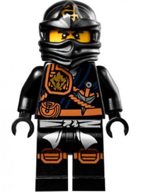 LEGO Ninjago Cole Minifigure [Knee Pads Loose]