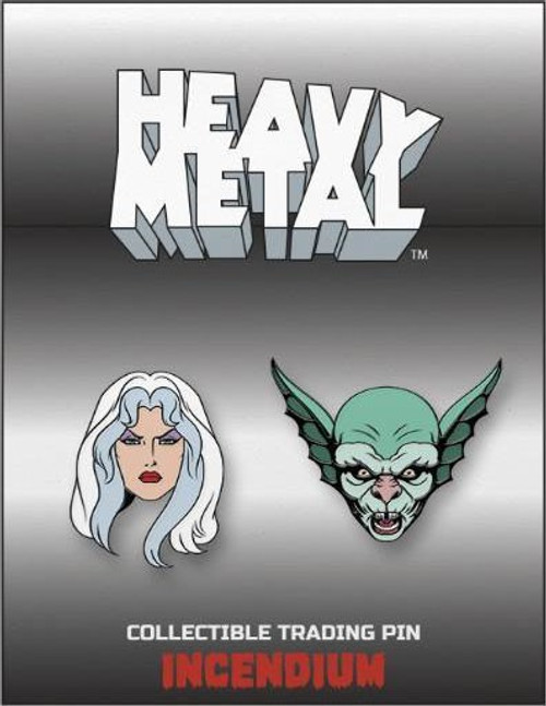 Heavy Metal Set 1 2-Inch Lapel Pin Set