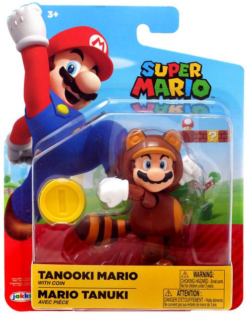 World of Nintendo Wave 16 Tanooki Mario Action Figure [Coin]