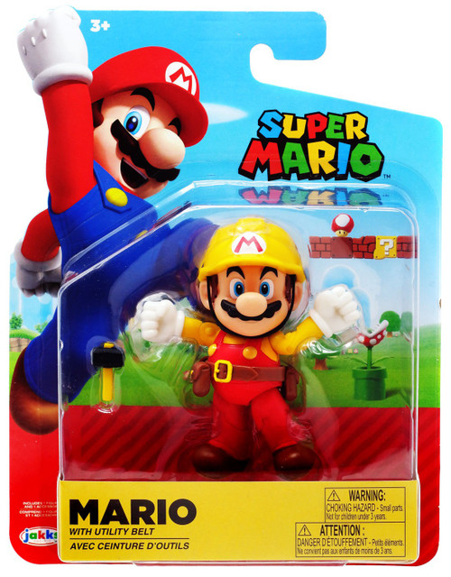 World of Nintendo Wave 16 Mario Maker Action Figure [Utility Belt]