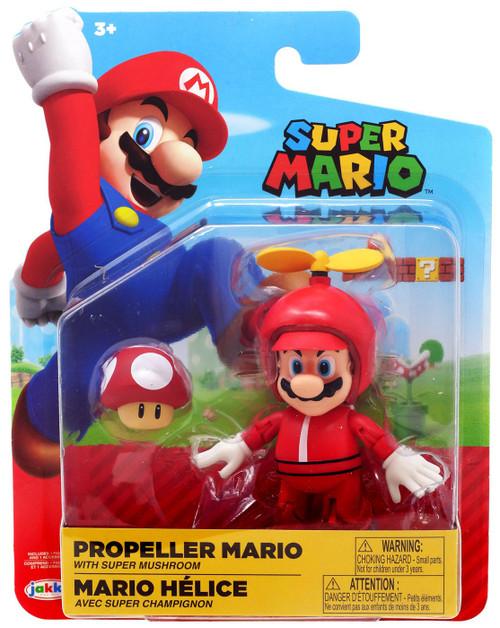 World of Nintendo Wave 16 Propeller Mario Action Figure [Red Mushroom]
