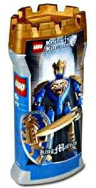 LEGO Knights Kingdom Series 2 King Mathias Set #8796