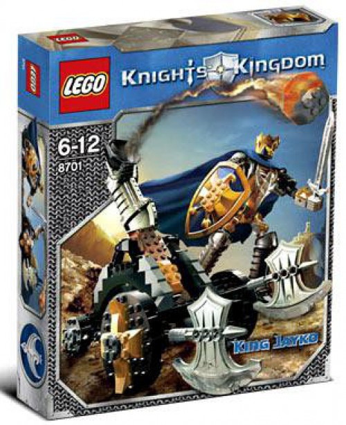 LEGO Knights Kingdom King Jayko Set #8701