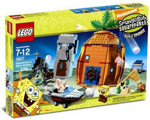 LEGO Spongebob Squarepants Adventures at Bikini Bottom Set #3827