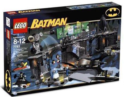 LEGO Batman The Batcave: Penguin & Mr. Freeze's Invasion Set #7783