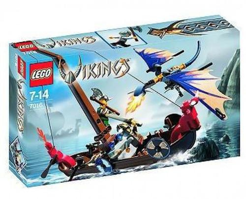 LEGO Vikings Viking Boat Against the Wyvern Dragon Set #7016