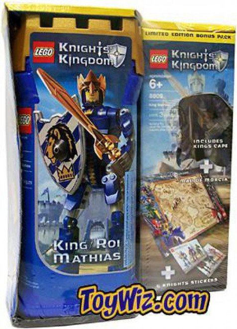 LEGO Knights Kingdom King Mathias Exclusive Set #8809