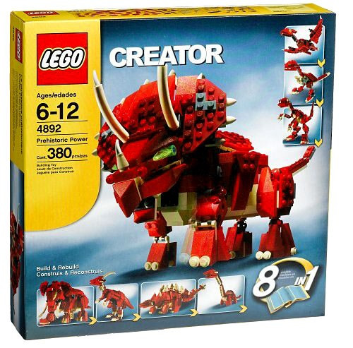 LEGO Creator Prehistoric Power Set #4892