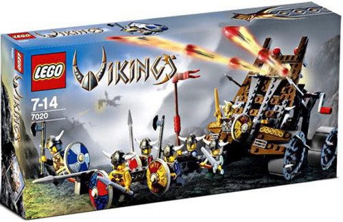 LEGO Army of Vikings with Heavy Artillery Wagon Set #7020