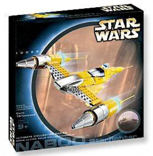 LEGO Star Wars Phantom Menace Naboo Starfighter Set #10026 [New]