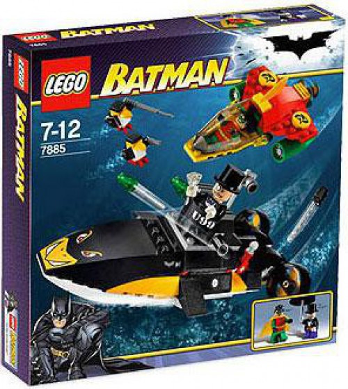 LEGO Batman Robin's Scuba Jet: Attack of the Penguin Set #7885