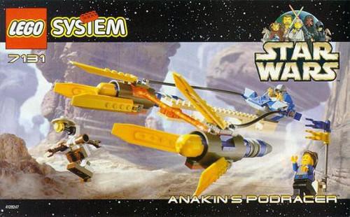 LEGO Star Wars Phantom Menace Anakin's Podracer Set #7131