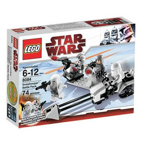 LEGO Star Wars The Empire Strikes Back Snowtrooper Army Pack Set #8084