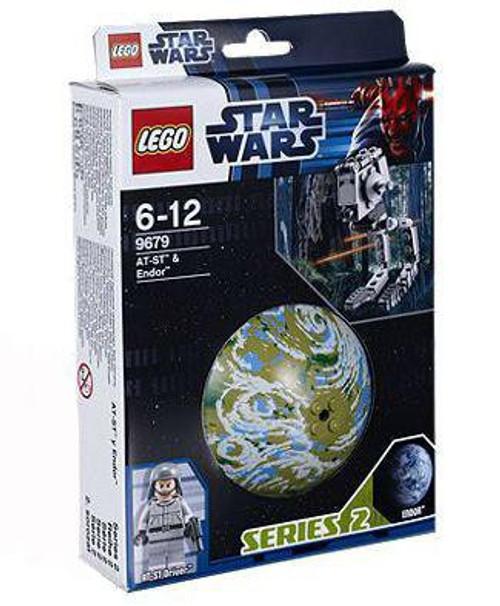 LEGO Star Wars Return of the Jedi Planets Series 2 AT-ST & Endor Set #9679