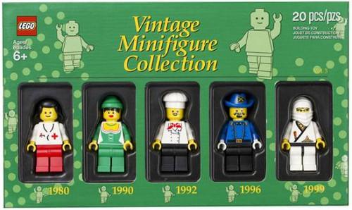 LEGO Exclusives Vintage Minifigure Collection Exclusive Set #5000439 [Volume 3]