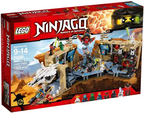 LEGO Ninjago Samurai X Cave Chaos Set #70596