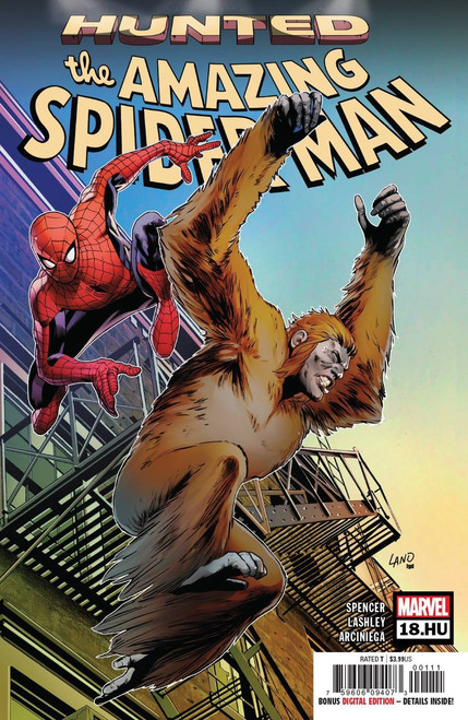 Marvel Comics Amazing Spider-Man #18.HU Comic Book