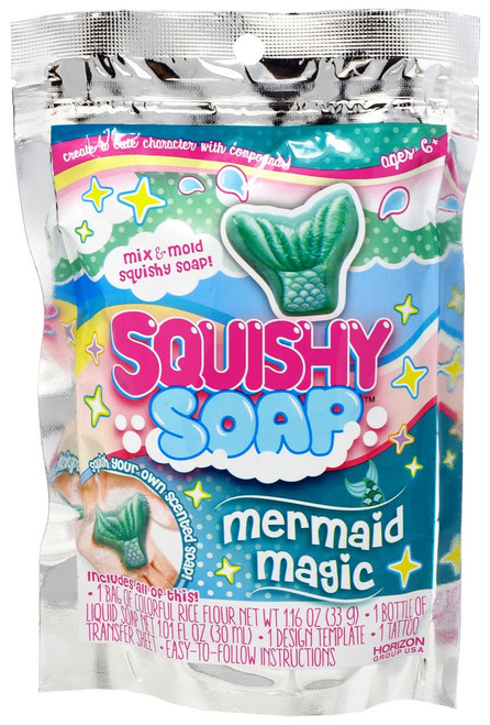 Squishy Soap Mini Mermaid Magic Kit