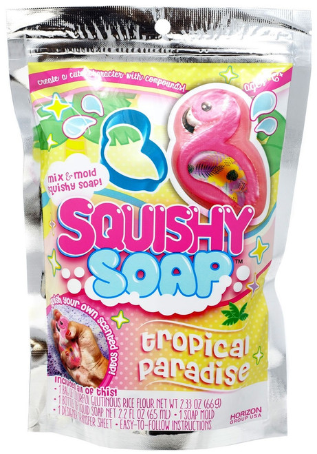 Squishy Soap Tropical Paradise Kit
