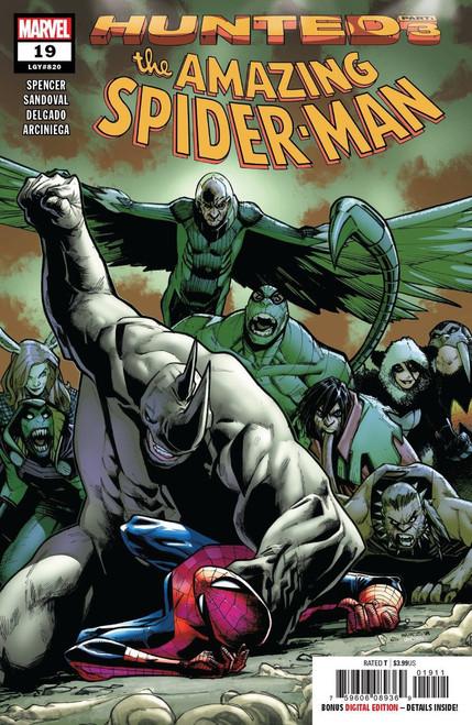 Marvel Comics Amazing Spider-Man #19 Comic Book