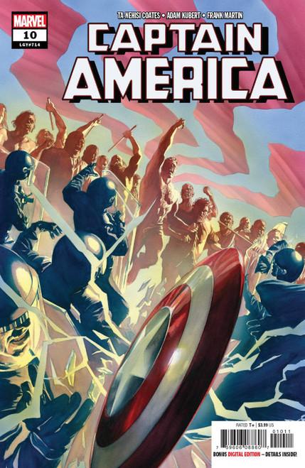 Marvel Comics Captain America #10 Comic Book