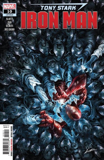 Marvel Comics Tony Stark: Iron Man #10 Comic Book