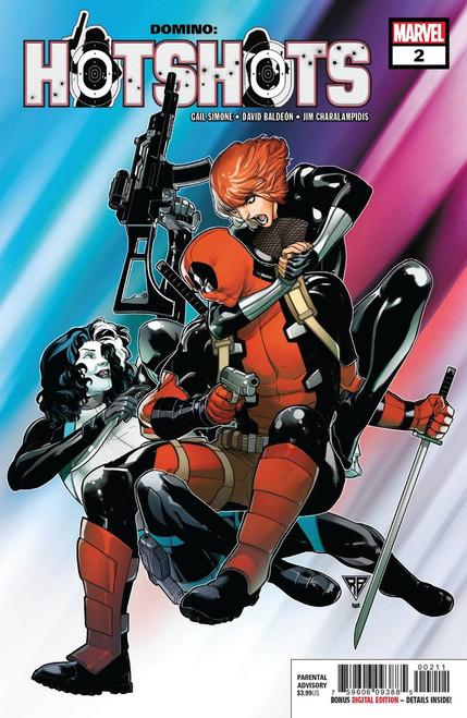 Marvel Comics Domino Hot Shots #2 of 5 Comic Book