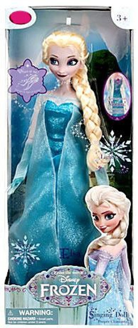 Disney Frozen Elsa Exclusive 16-Inch Singing Doll [2013, Damaged Package]