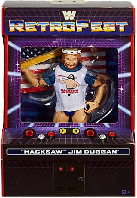 WWE Wrestling Elite Collection RetroFest Hacksaw Jim Duggan Action Figure